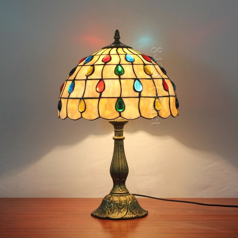 Pearl Tiffany Lamp 12S8-9T305 | Pearl Tiffany Lamps | Pinterest