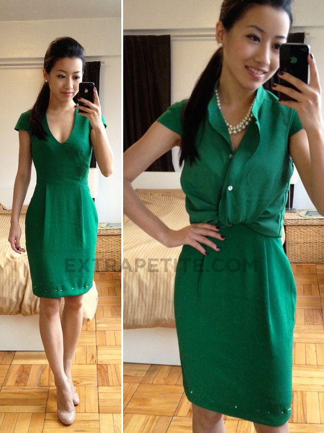 10++ Petite green dress ideas