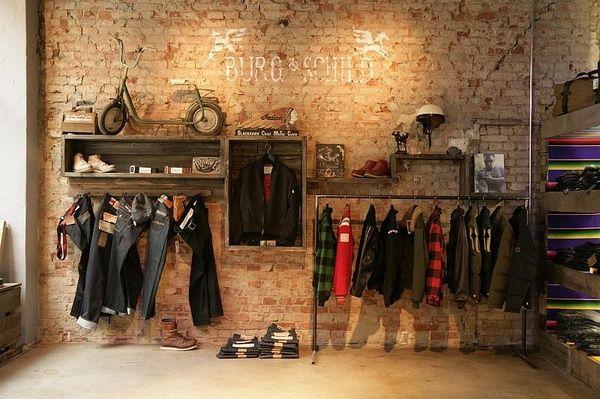 9845e4561 Del Carmen by Sarruc: Como decorar uma loja de roupas masculinas ...