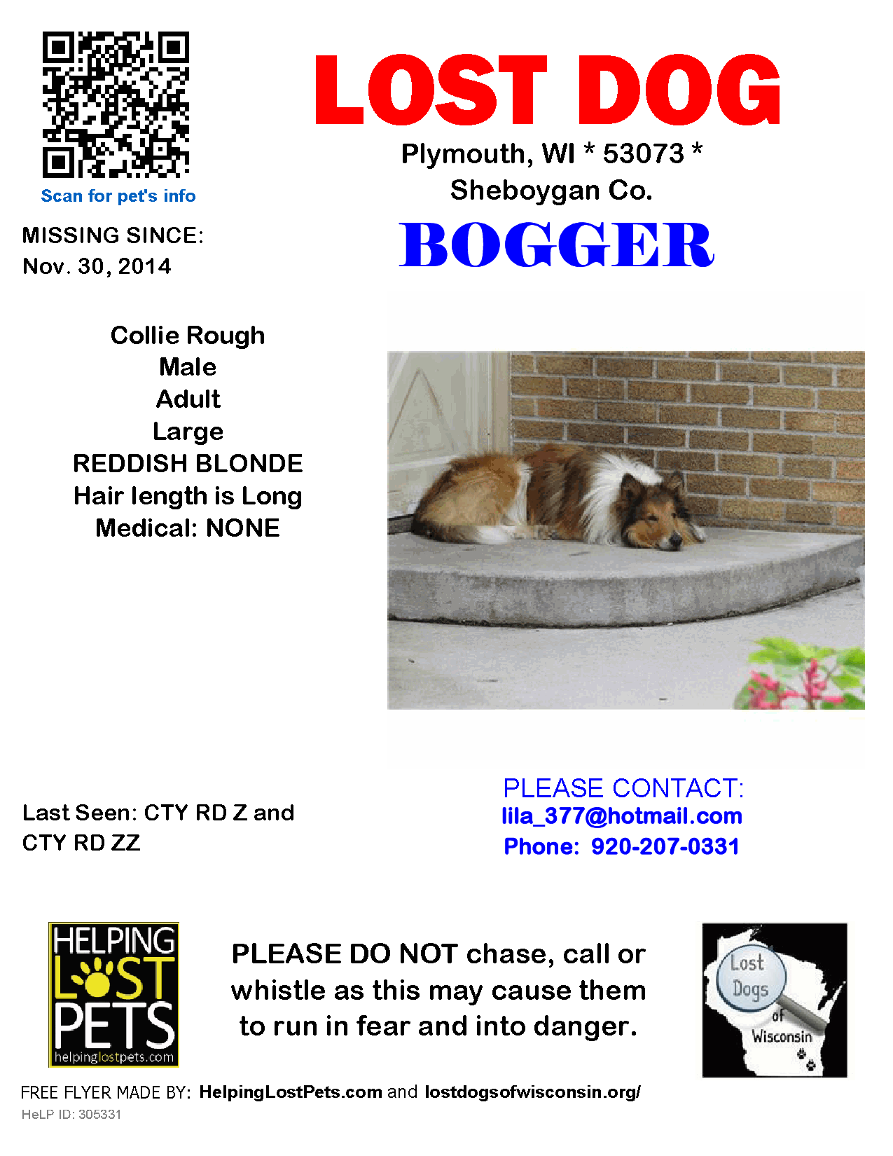 Lost Dogs Of Wisconsin December 1 2014 Lost Dog Bogger 11 30 2014 Sheboygan Co Plymouth Cty Rd Z Cty Rd Zz Wi 53073 Bogg Losing A Dog