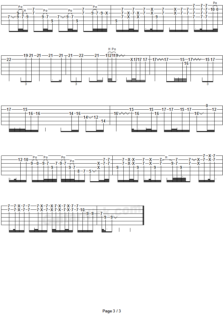 Comfortably Numb Guitar Solo Tab 3 Guitar Tabs Comfortably Numb Guitar