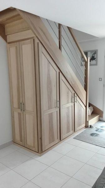 Escalier et placards par Mathieu Montigny