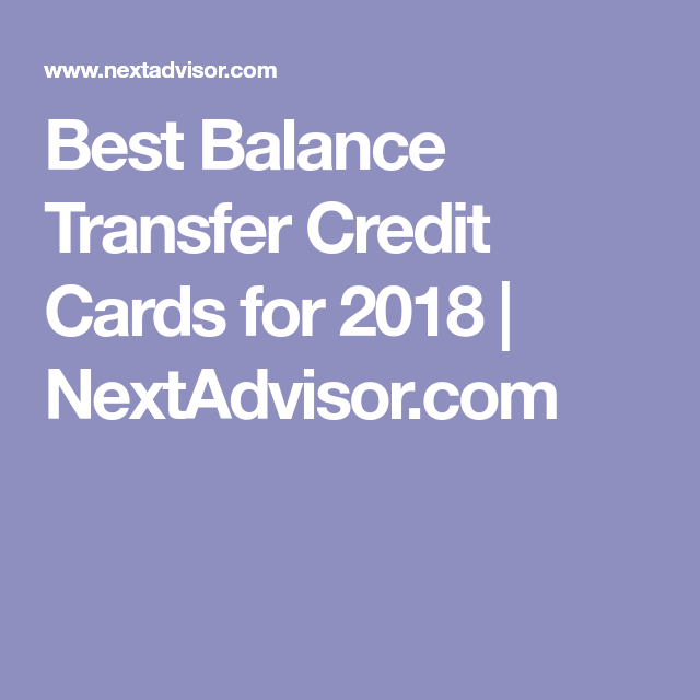 Best Balance Transfer Credit Cards For February 2020