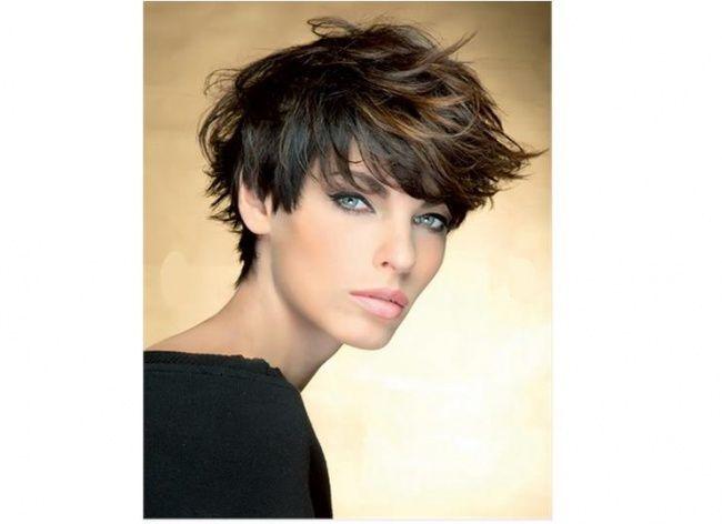 Ombre Na Bardzo Krótkich Włosach Szukaj W Google Fryzury