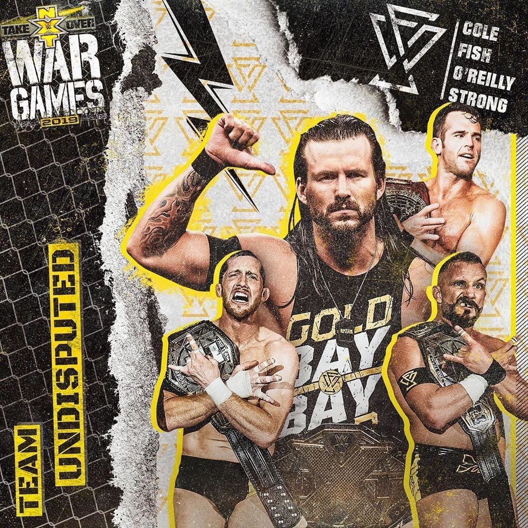 0.99 2017 Topps Wwe Slam Nxt War Games Black Signature