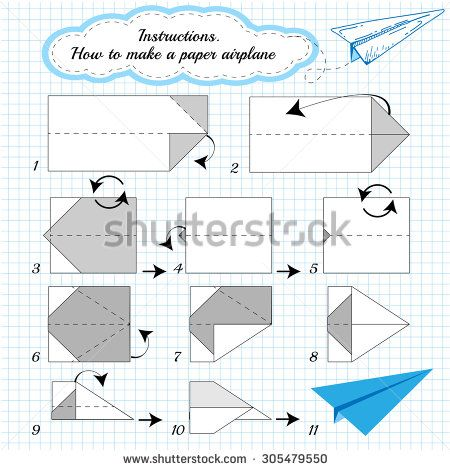 paper plane tutorial step by step how to make origami paper