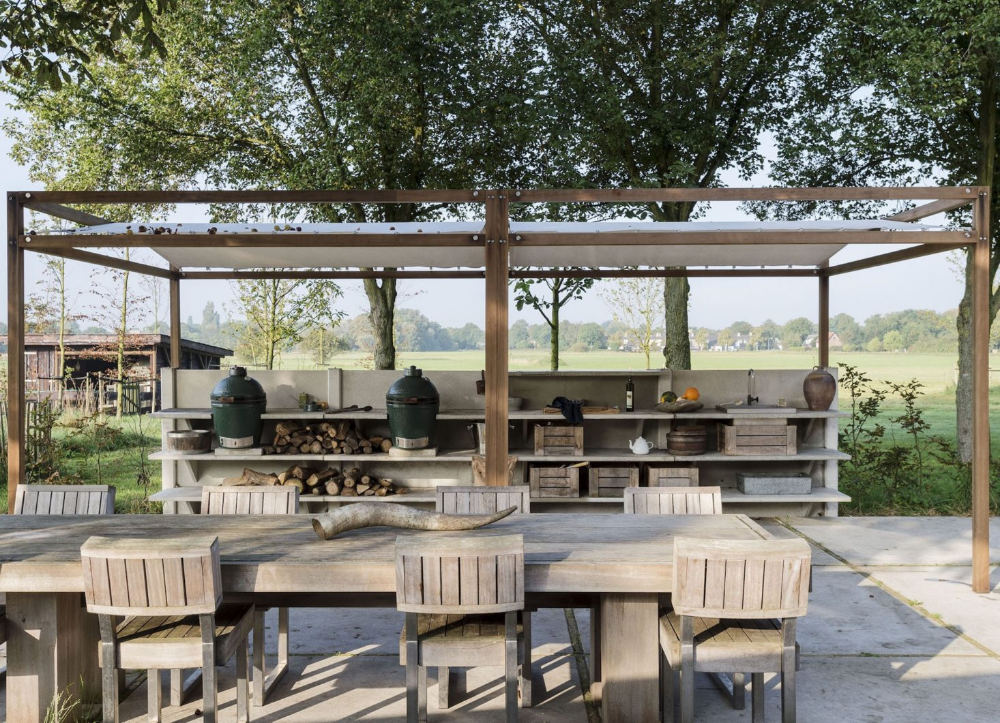 Steal This Look The Ultimate Summery Outdoor Kitchen