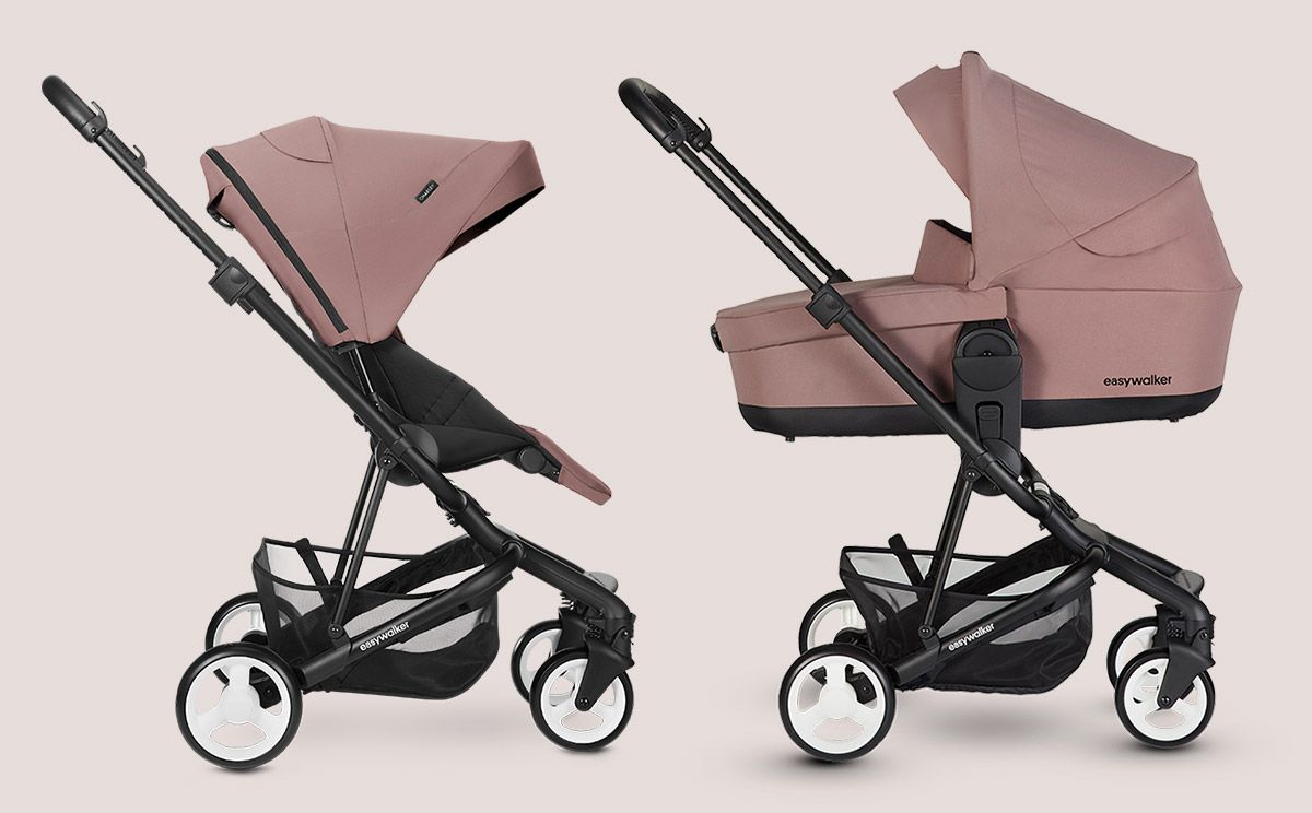 Kinderwagen Easywalker Duo Easywalker Buggy Xs Night Black Baby Strollers Baby Wish