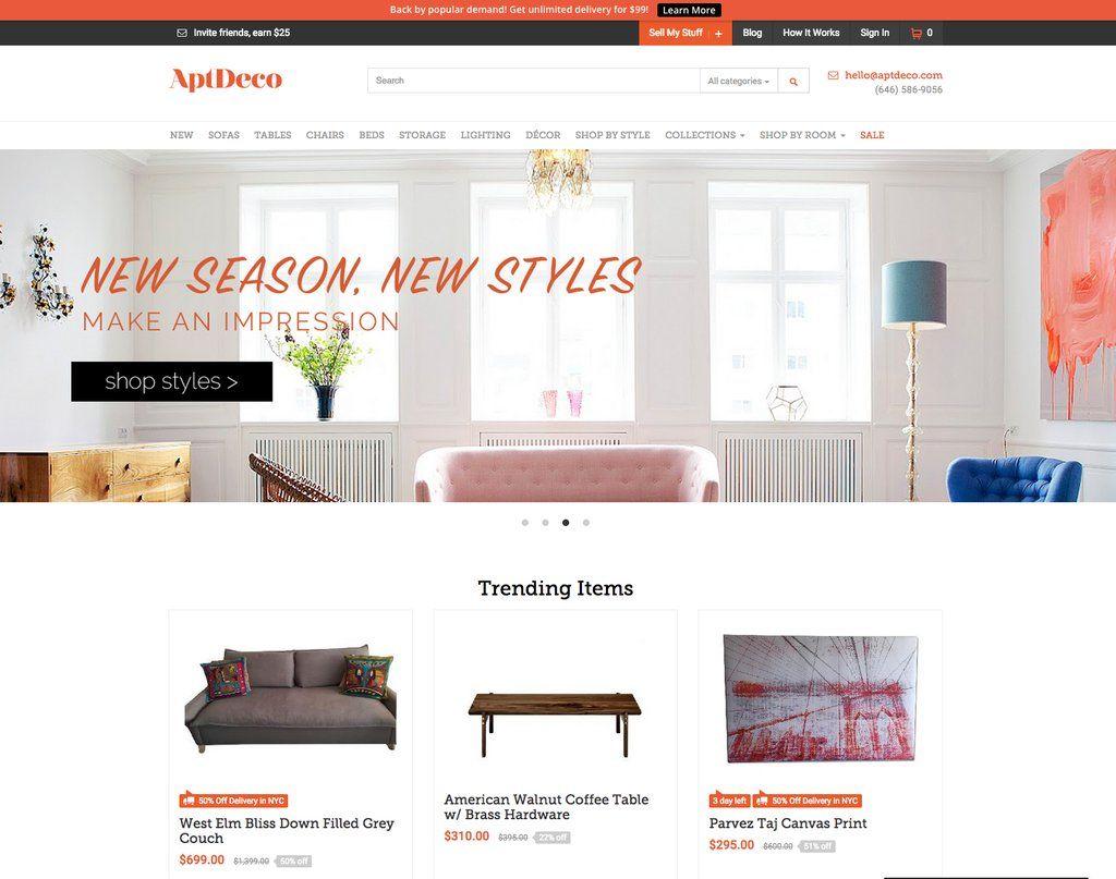 5 Sites Better Than Craigslist Home Bar Furniture Furniture Deals Buy Furniture Online