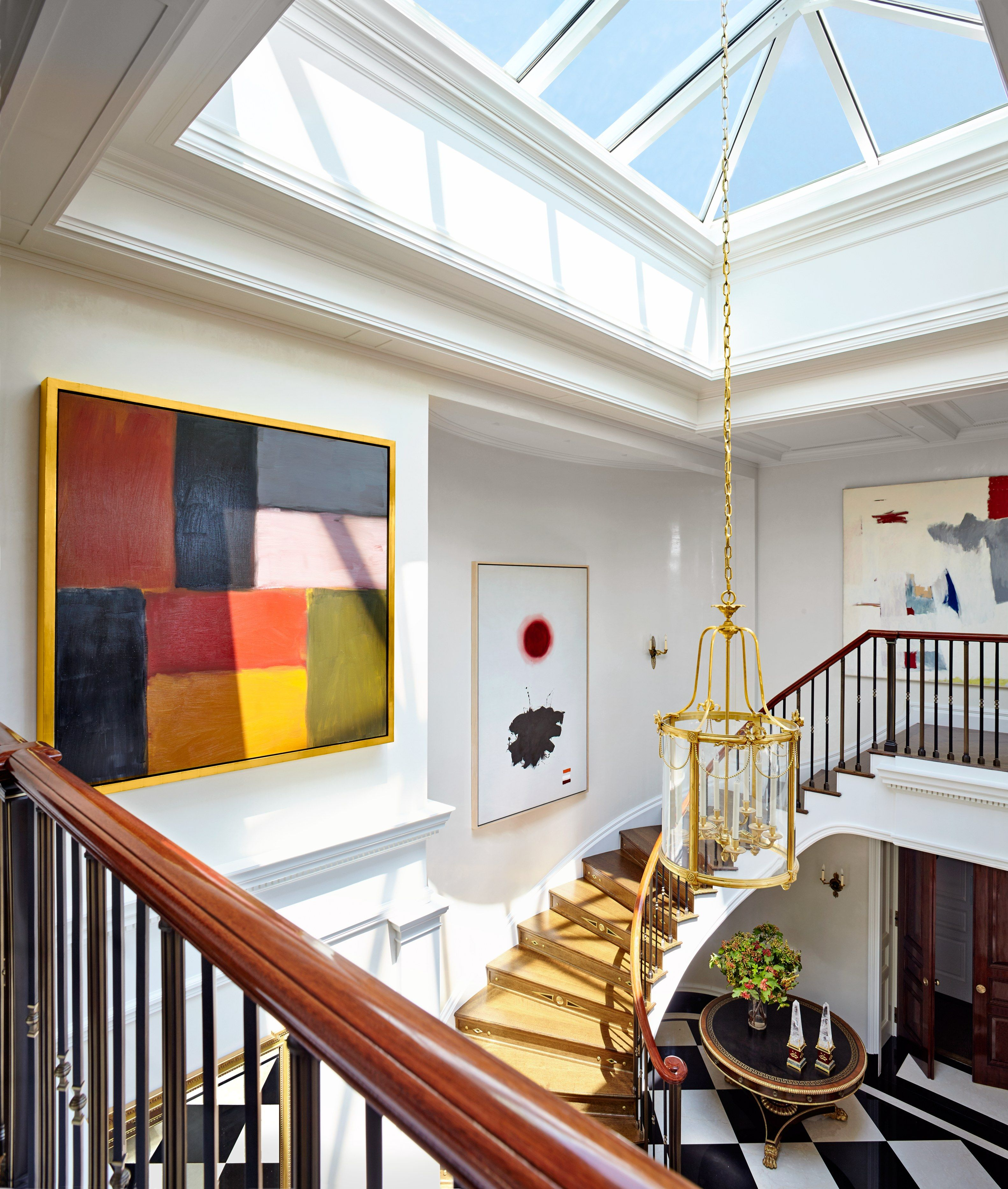 Manhattan Jazz Age Penthouse Makeover Studios Jazz And Antiques - Architectural digest modular home designs
