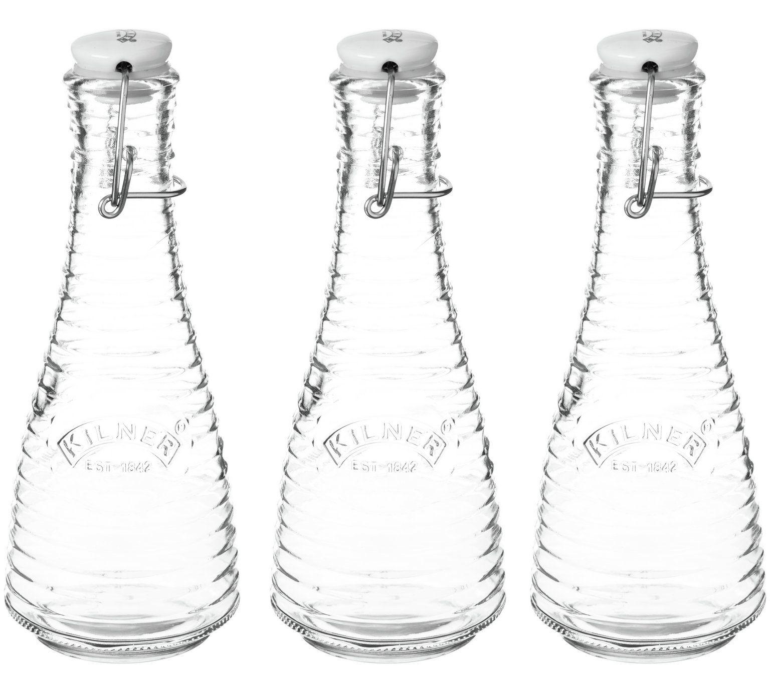 Buy Kilner 0.45 Litre Cliptop Water Bottle - Set of 3 at ...