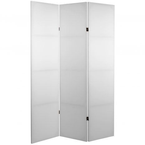 At seventy one inches these plain design room dividers are just
