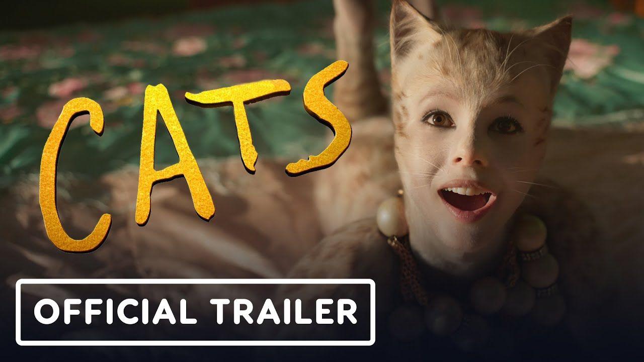 Cats Official Trailer 2 2019 Jennifer Hudson Idris Elba Ian Mckellen In 2020 Idris Elba Jennifer Hudson Official Trailer