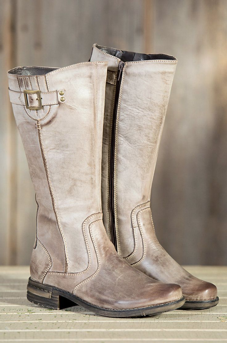 5c8e752f5b35 Women s Regan Tall Leather Boot with Fleece Lining by Overland Sheepskin  Co. (style 50307)