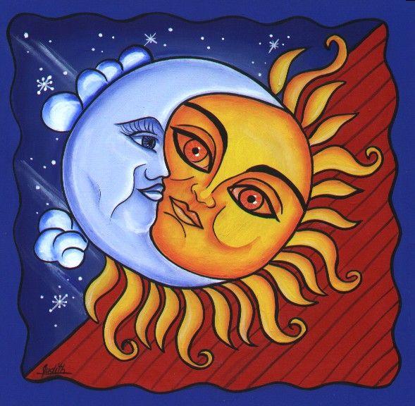 Tan juguetona era la luna que un da por divertirse se burl del