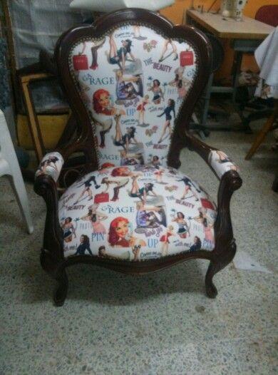 Silla Isabelina vintage