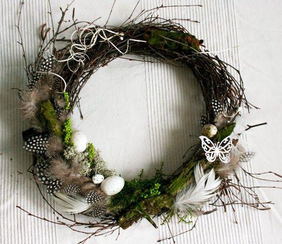 Wianek Wielkanocny Easter Door Decor Spring Decor Easter Decorations