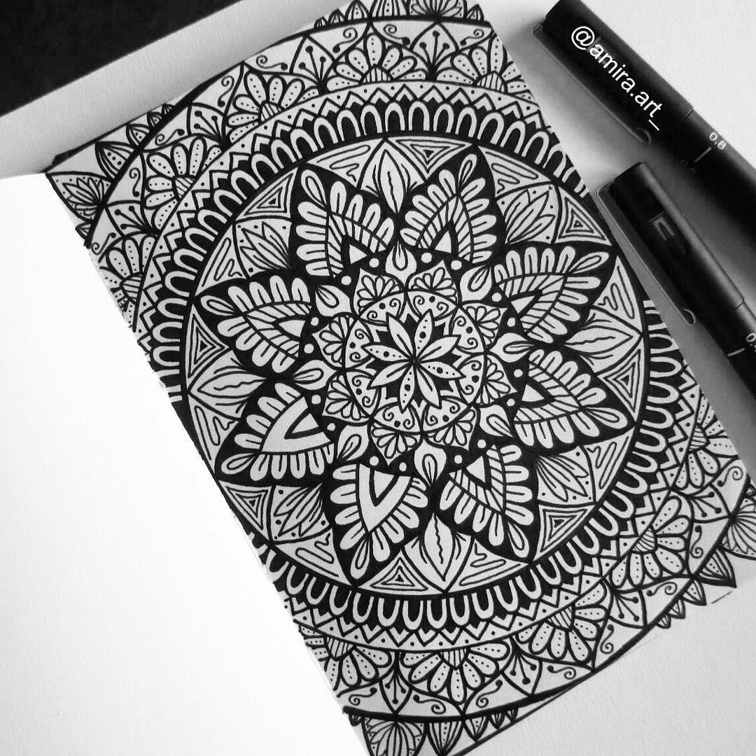 how to make a mandala art