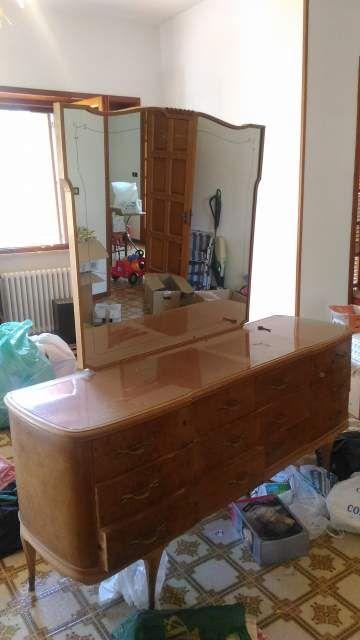 Mobili camera da letto Chippendale d\'epoca antichi anni 30 ...