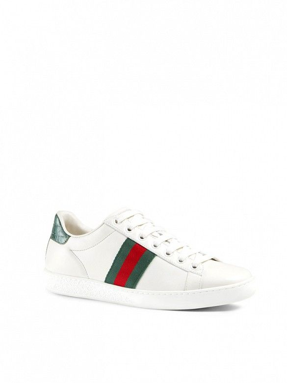 Sneakers, Gucci sneakers, Leather sneakers