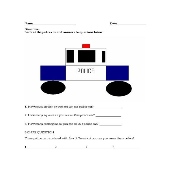 Police activities for kids a police officer lesson plan police activities for kids a police officer lesson plan fandeluxe Images