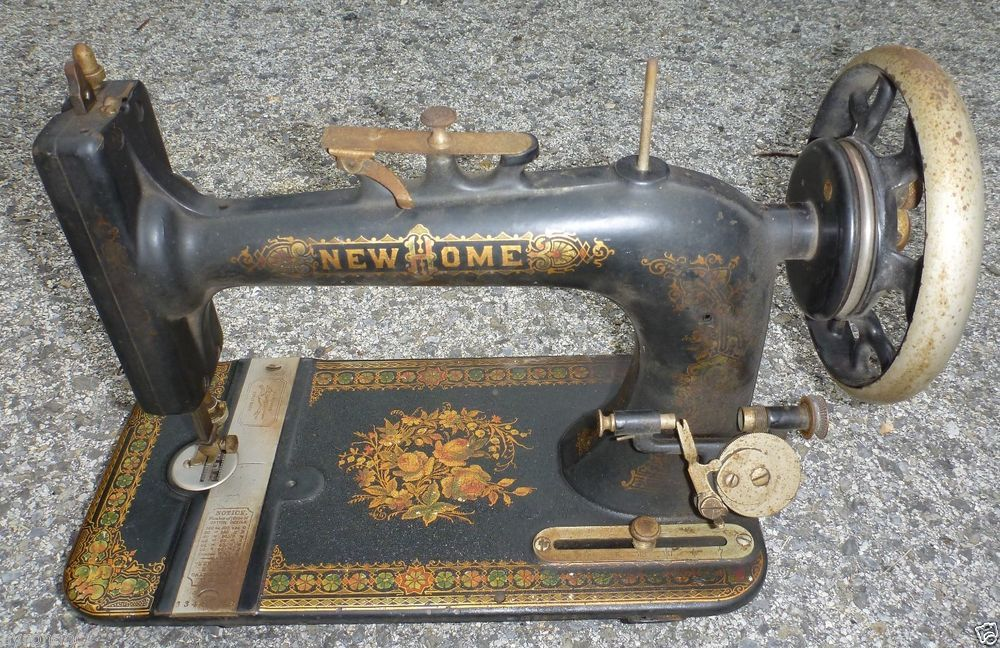 very rare new home sewing machine 3348738 1912 a e f old antique rh pinterest com Antique New Home Sewing Machine Antique New Home Sewing Machine