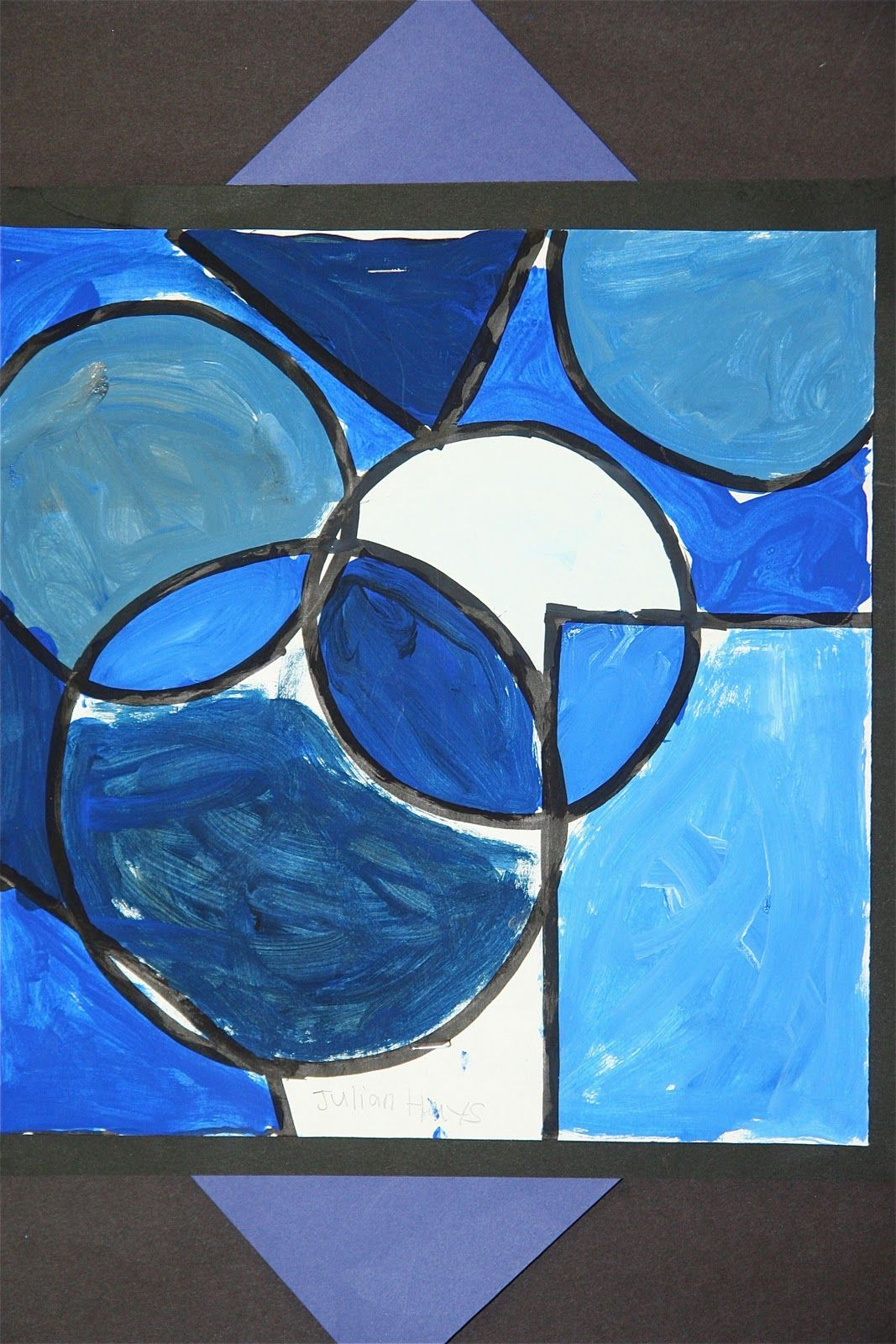 Monochromatic Paintings: Use idea with similar figures ...