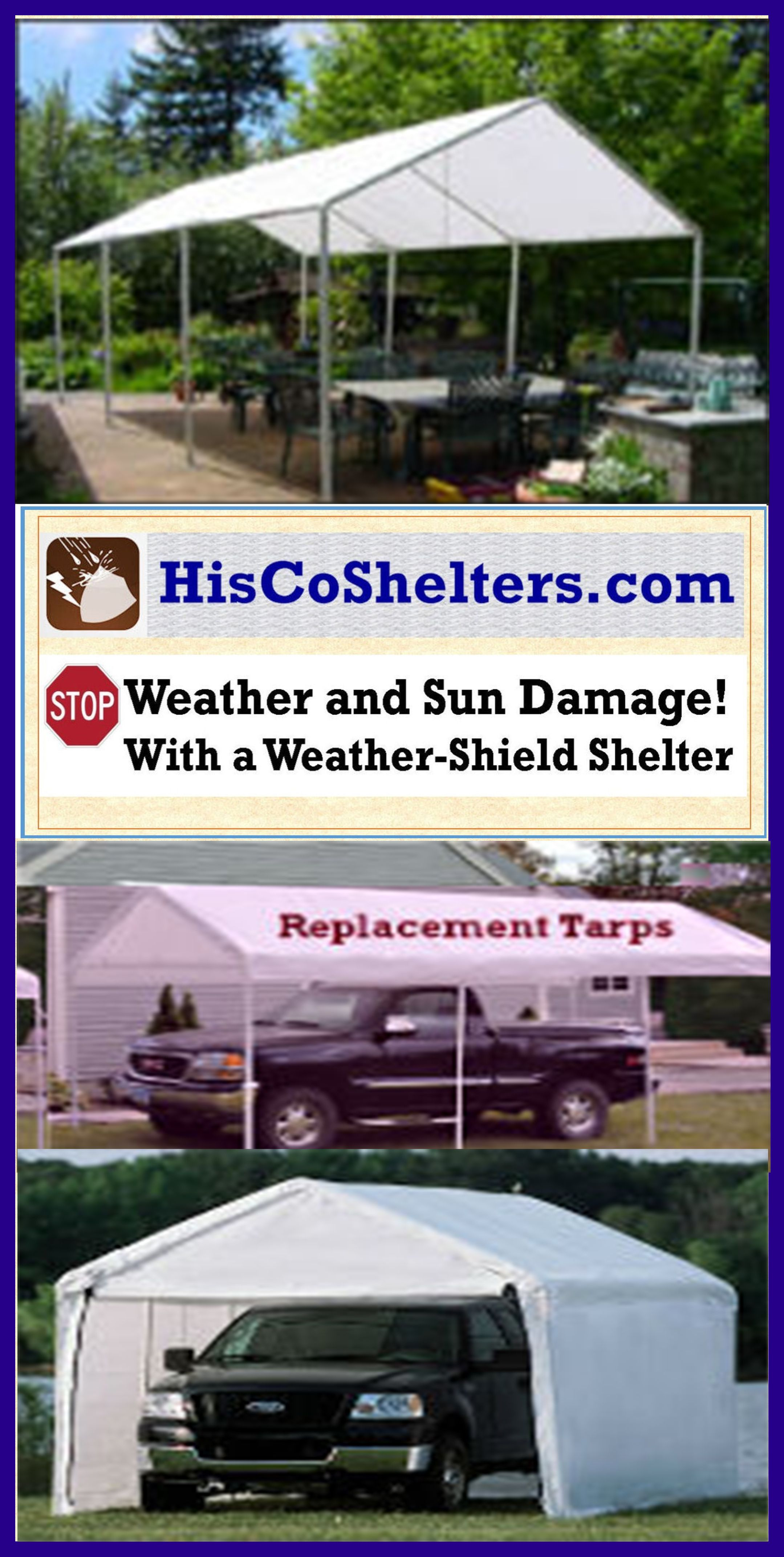 Replacement Tarp for 10x20 shelter canopy **Heavyduty