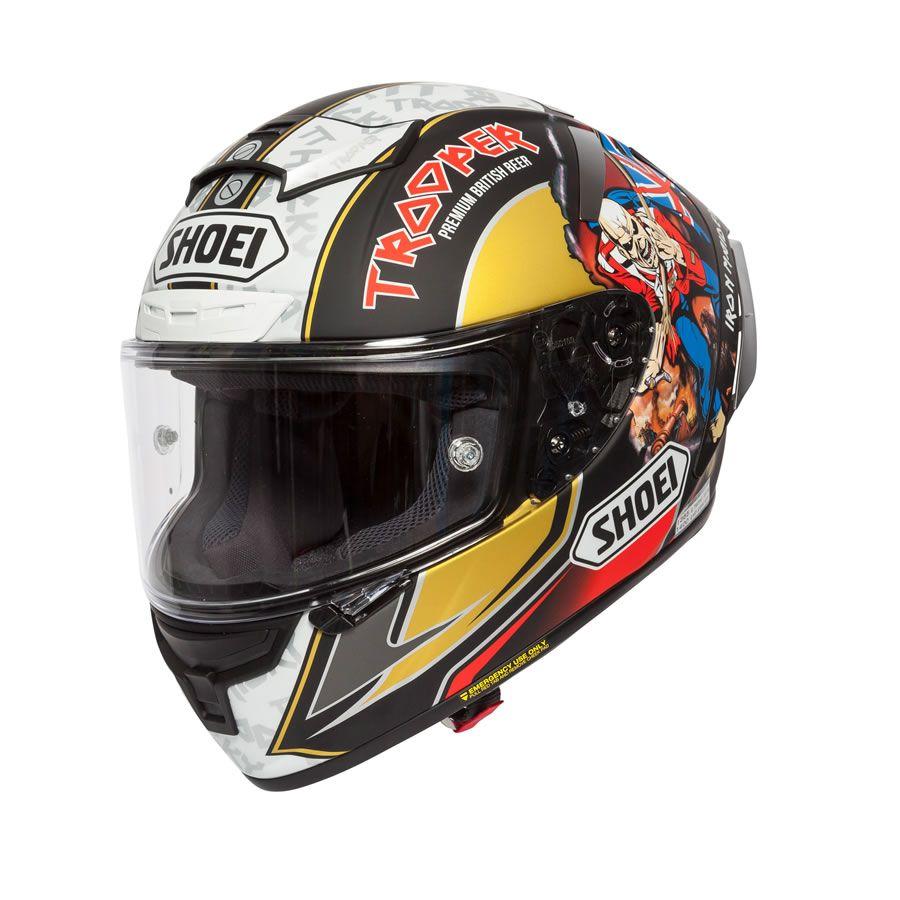 Shoei X Spirit 3 Hickman Trooper 2018 Replica Helmet Helmet Helmet Design Shoei Helmets