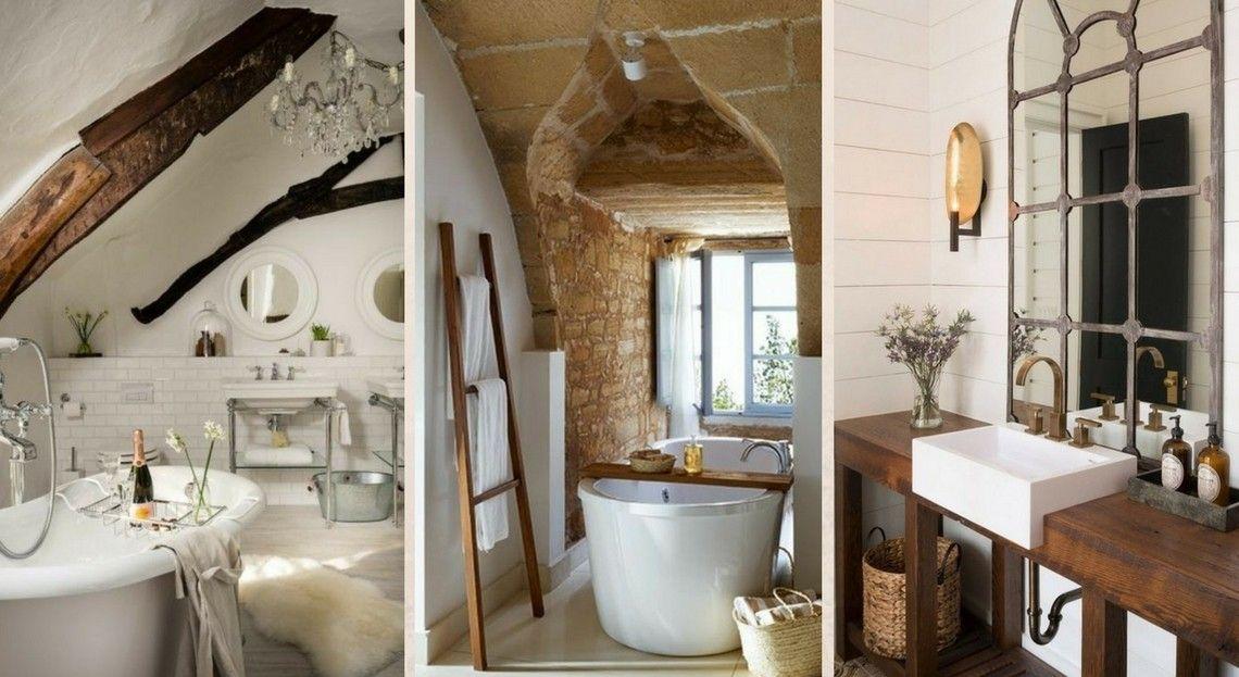 Inspiration 30 Salles De Bains Campagne Chic Pour S Inspirer