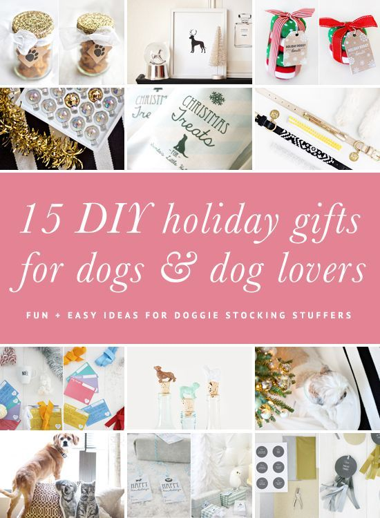 15 DIY Dog Christmas Gifts for Dogs & Dog Lovers | Fluffy Christmas ...