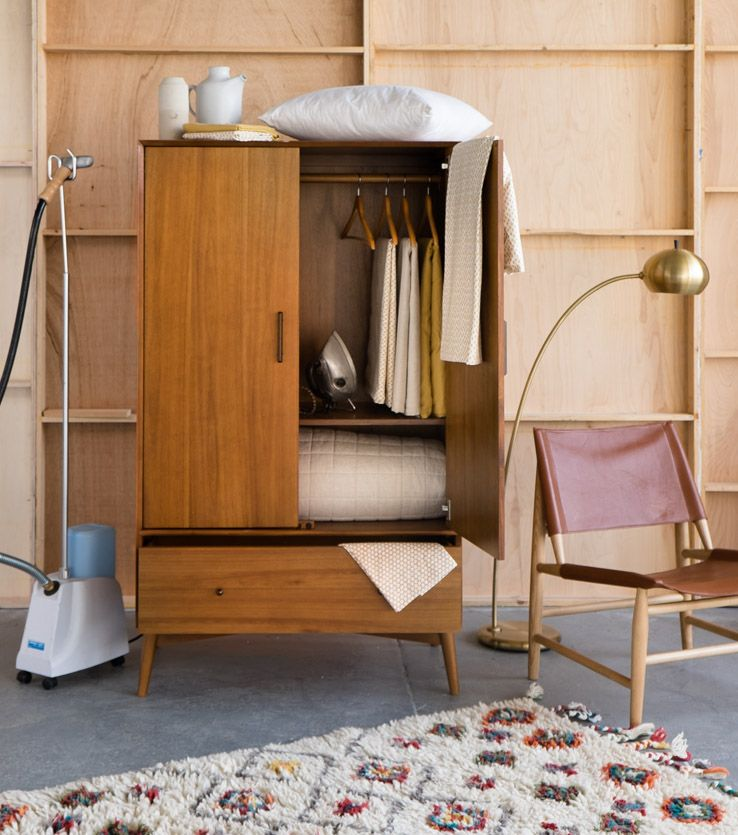 5 Awesome Alternate Uses For Your Wardrobe West Elm Minimalist Room Furniture Home Decor