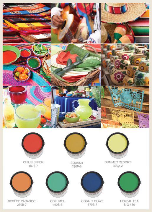 Cinco De Mayo Mexican Colors