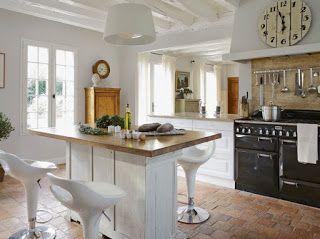 ARREDAMENTO E DINTORNI: cucine rustiche-moderne | Home style | Pinterest