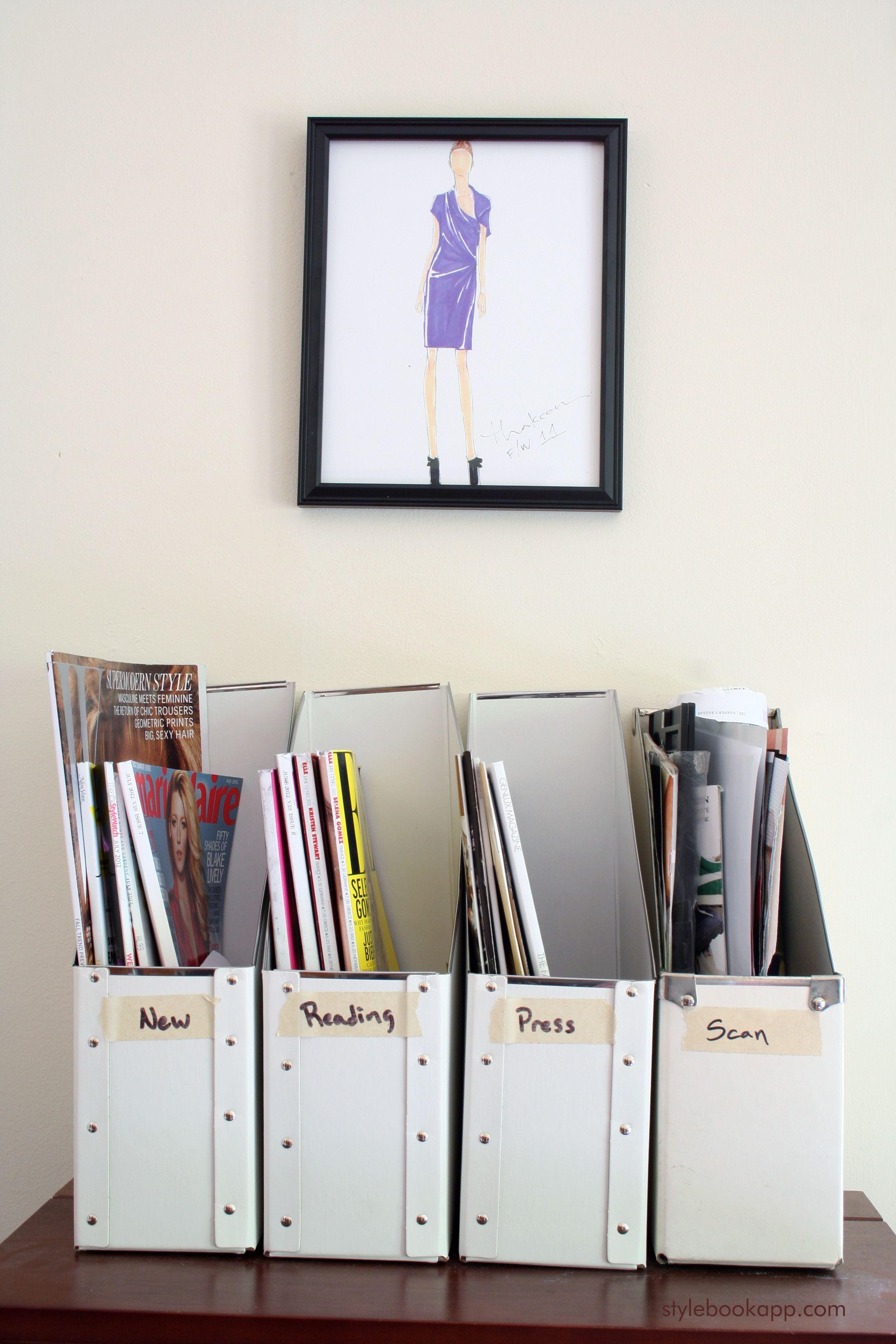 Magazine Filing System