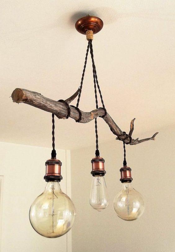 Rustic Lighting, Diy Rustic Chandelier Ideas