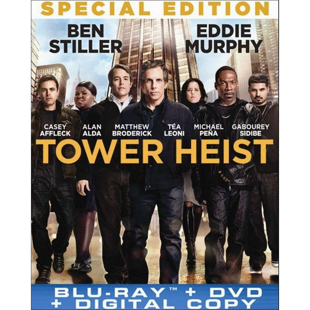 Tower Heist (Special Edition) (2 Discs) (Includes Digital Copy) (UltraViolet) (Blu-ray/Dvd)