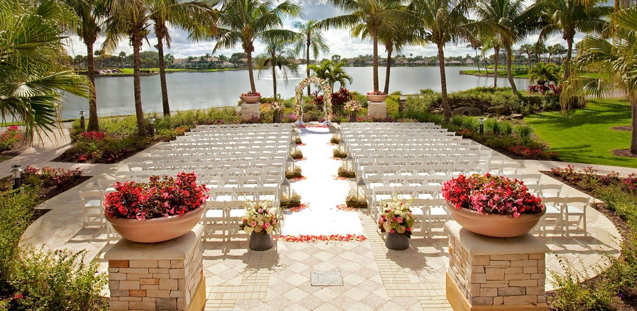 Pin By Pga National Resort Spa On Wedding Wedding Venues Beach Wedding Venues Florida Orlando Outdoor Wedding Venues