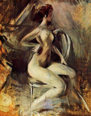 'Flinke Nackte' von Giovanni Boldini