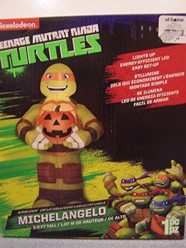 Halloween Inflatable Air blown Teenage Mutant Ninja Turtles TMNT - halloween inflatable decorations