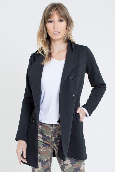 0e6114b42 Casaco sobretudo feminino de motelom flanelado. Quentinho e elegante, este  casaco é a peça