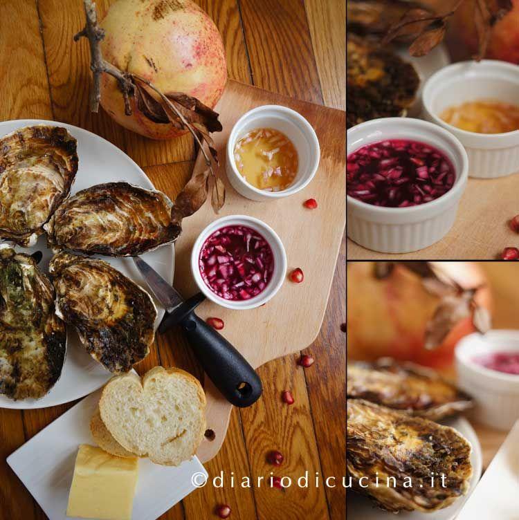 ostriche e vinaigrette