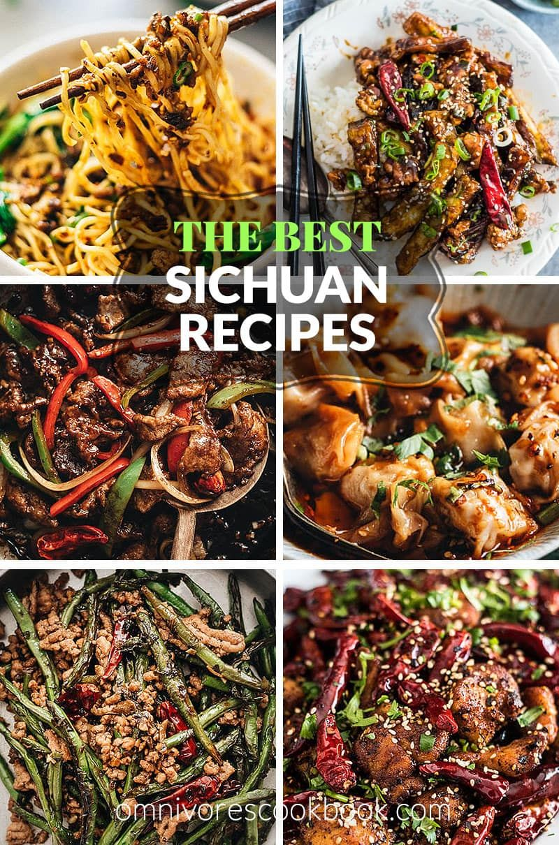 Top 14 Sichuan Recipes Some Of The Most Popular Real Deal Sichuan Recipes Made Accessible For Homecooks To Replicate In Their O Recipes Asian Recipes Sichuan