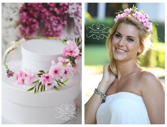 Flower Crown Wedding Tiara Wedding accessories by MimiPrincess, €26.90 By at: https://www.etsy.com/shop/MimiPrincess