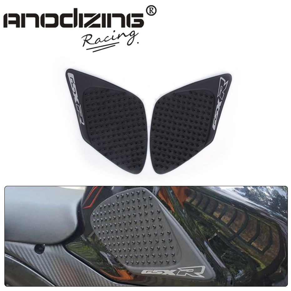 Decal Story Grey Gas Fuel Tank Decal Pad Anti Slip Traction Side Knee Grip Protector For Suzuki GSXR 1000 2007-2008