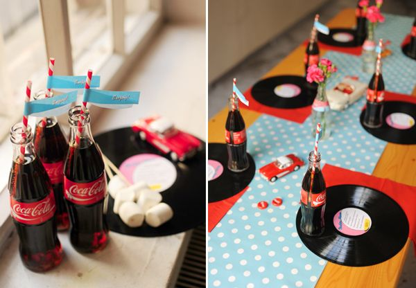 50 39 s theme party decor cute 60 39 s party pinterest for 1950s party decoration