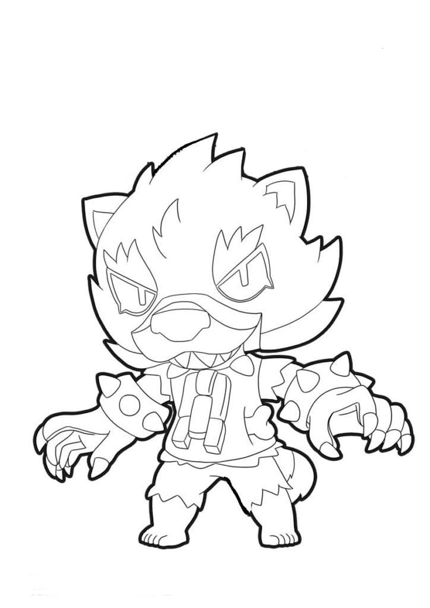 Werewolf Leon In 2020 With Images Star Coloring Pages