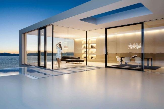 Moderne innentüren eiche josko  josko Fenster Türen hersteller ganzglassysteme häuser schiebetüren ...
