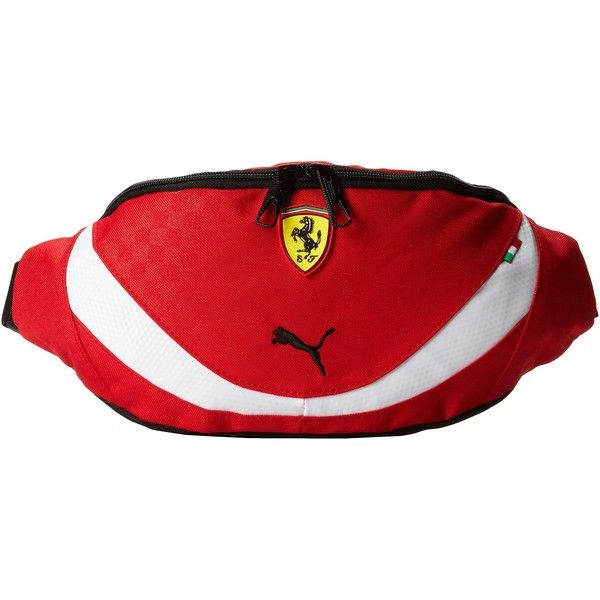 PUMA Ferrari Replica Waist Bag (Red) Bags ( 30) ❤ liked on Polyvore  featuring bags 5711eaef4fee0