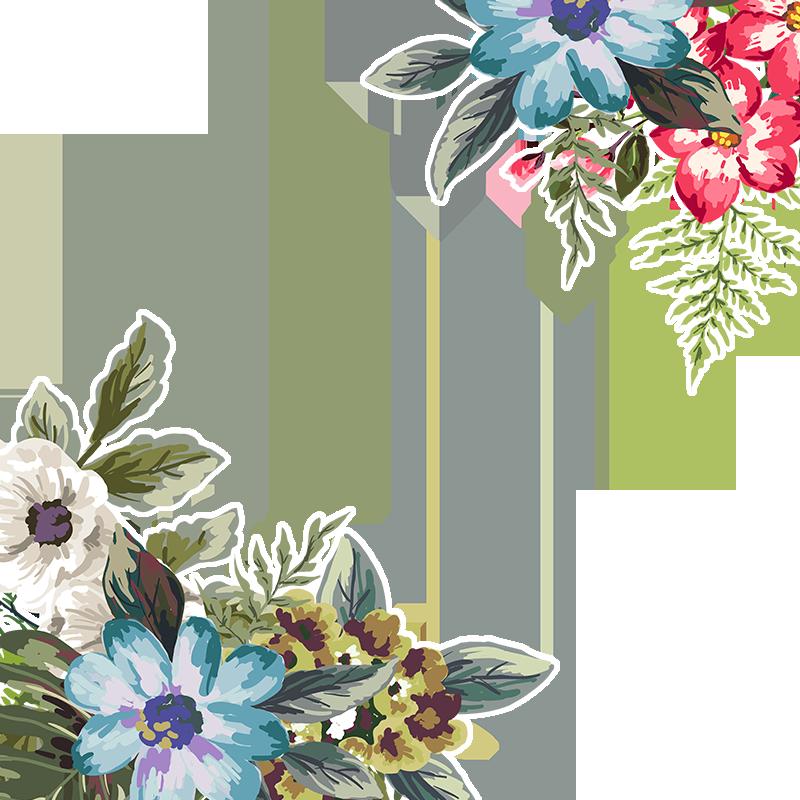Spring Flowering Flowers, Spring Vector, Flowers, Floral